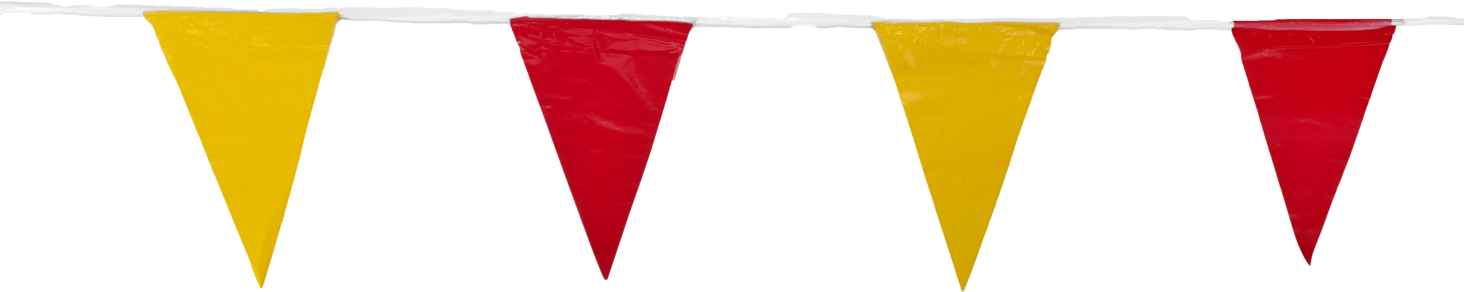 Pack of 10 Mutual Industries 15903-7941 OSHA Perimeter Marker Red//Yellow