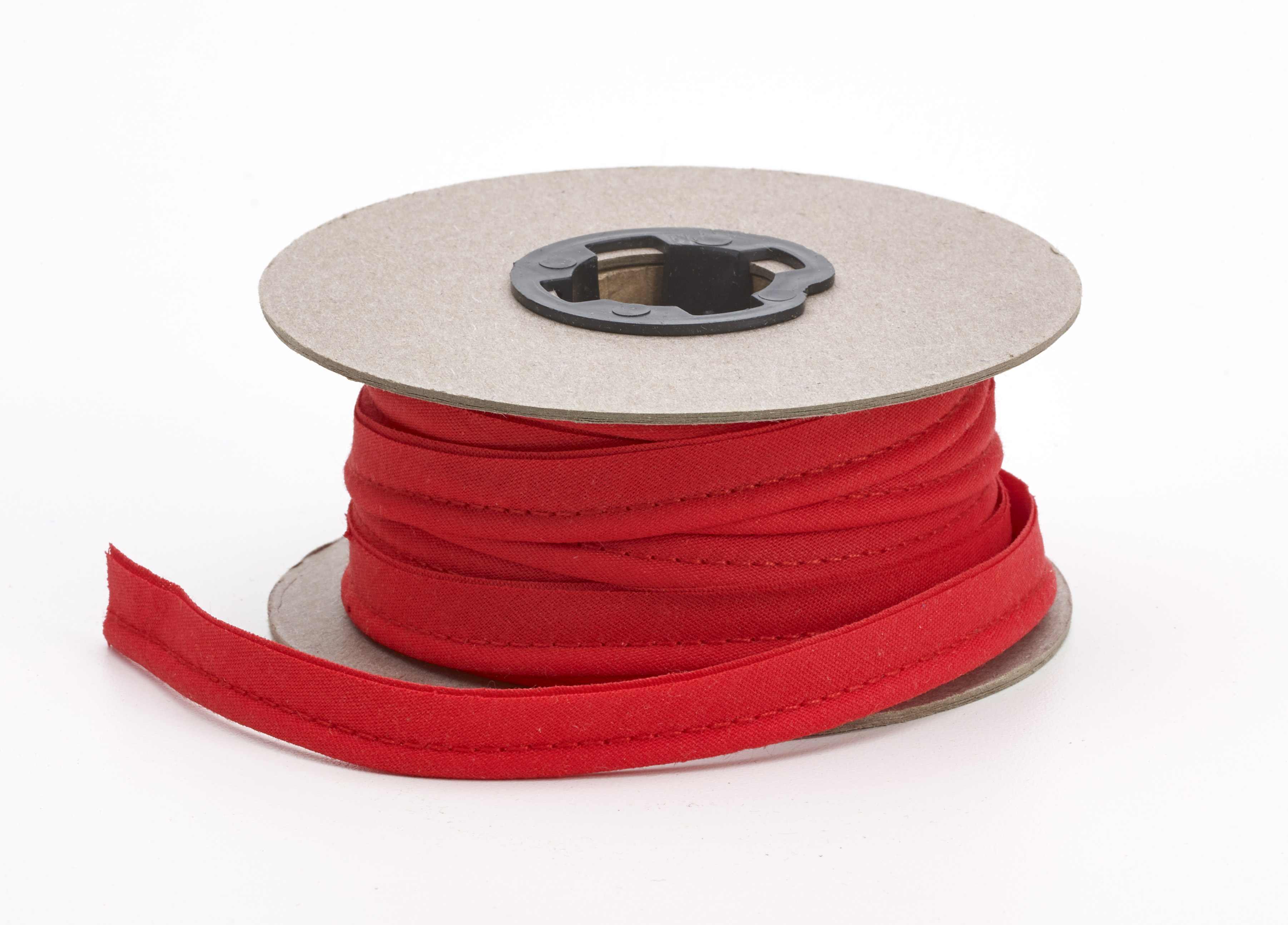 62-050-9703-15, Broadcloth cord piping, 1/2 Wide, 15 yds, Red, Mutual Industries