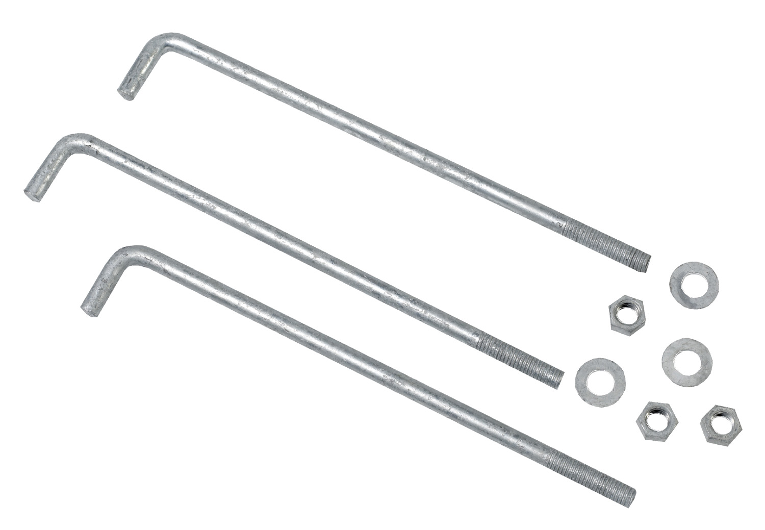 7700-0-12, Mutual Industries 7700-0-12 Anchor Bolts, 1/2 x 12 (Pack of 50), Mutual Industries