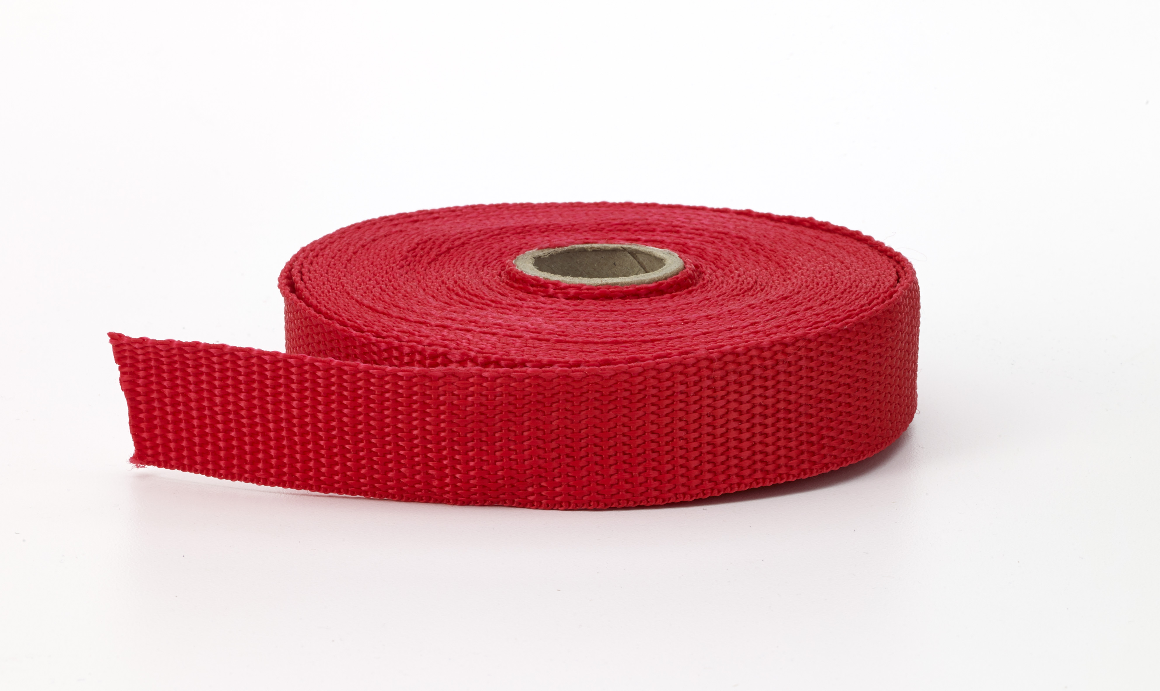 M2020-212-2-10, Polypropylene webbing, 2 in Wide, 10 yds, Red, Mutual Industries
