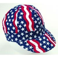 00350-00000-7125, Kromer Americana Style Welder Cap 7 1/ 8, Cotton, Length 5, Width 6, Mega Safety Mart