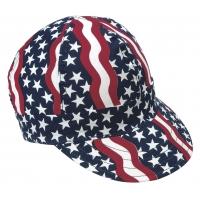 00350-00000-7625, Kromer Americana Style Welder Cap 7 5/ 8, Cotton, Length 5, Width 6, Mega Safety Mart