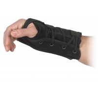 Lace-up wrist support -Left Hand