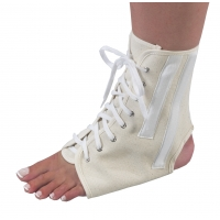 Canvas Ankle Brace with Laces