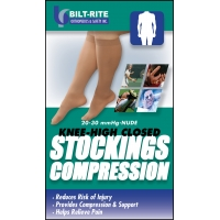 Knee-High Stockings - 20-30 mmHg Natural