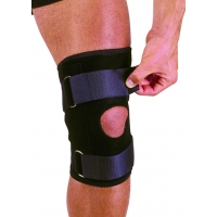 Neoprene Knee Stabilizer with Straps, Adjustable