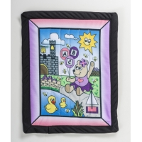 Changing Pad kit, Girl Bear 22' x 29'