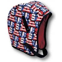13210, WL3-210 Kromer High Quality Hard Hat Winter Liner with USA Regular Nape, Red/White/Blue, Mega Safety Mart