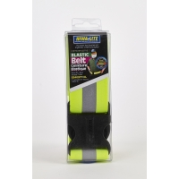 Reflective Elastic Personal Protection Waistband, 2 in. x 39 in., Lime/Silver/Lime
