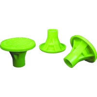 OSHA Rebar Cap, Lime (Pack of 100)