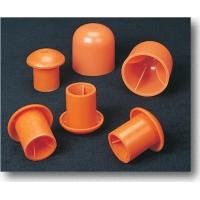 14640-2, Rebar Cap, Large, for #9-#16 (2), Orange (Pack of 100), Mega Safety Mart