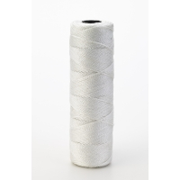 Nylon Mason Twine, 1/4 lb. Twisted, 18 x 275 ft., White (Pack of 6)