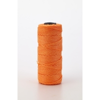 Nylon Mason Twine, 1 lb. Twisted, 18 x 1090 ft., Glo Orange (Pack of 4)