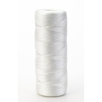 Nylon Mason Twine, 1/2 lb. Braided, 18 x 500 ft., White (Pack of 6)