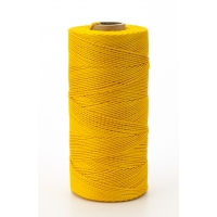 14662-138-1000, Nylon Mason Twine, 1 lb. Braided, 18 x 1000 ft., Glo Yellow (Pack of 4), Mega Safety Mart