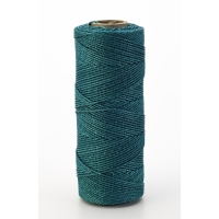 Nylon Mason Twine, 1/2 lb. Braided, 18 x 500 ft., Green (Pack of 6)
