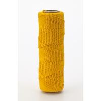 14662-41-250, Nylon Mason Twine, 1/4 lb. Braided, 18 x 250 ft., Yellow (Pack of 6), Mega Safety Mart