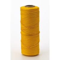 Nylon Mason Twine, 1/2 lb. Braided, 18 x 500 ft., Yellow (Pack of 6)