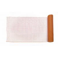 14900-45-100, HDPE Safe-T-Edge Diamond Link Safety Fence, 100 ft. Length x 4 ft. Width, Orange, Mega Safety Mart