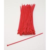 14970-179-11, Multi-Purpose Locking Ties, 11 in., Neon Red (Pack of 100), Mega Safety Mart