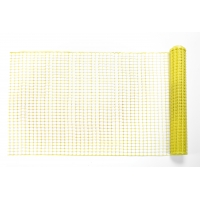 High Density Polyethylene (HDPE) Diamond Link Safety Fence, 50 ft. Length x 4 ft. Width, Yellow