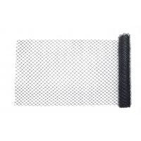 14988-91-48, High Density Polyethylene (HDPE) Diamond Link Safety Fence, 50 ft. Length x 4 ft. Width, Black, Mega Safety Mart