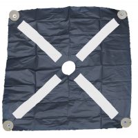 15600-0-96, Pre-Made Aerial Target, Harlequin Bullseye, 96 (Pack of 6), Mega Safety Mart