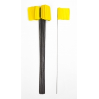 15901-41-4, Wire Marking Flags, 4x 5x 30, Yellow (Pack of 1000), Mega Safety Mart
