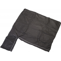 10 oz Non Woven Geotextile Disposal Sediment Filter Wetland Bag, 7-1/2' Length x 7-1/2' Width