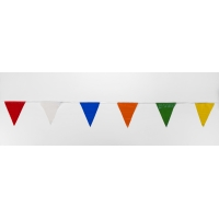 Multi Pennant Banner Flags, 100' (Pack of 10)