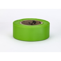 Flagging Tape Ultra Glo, Lime (Pack of 12)