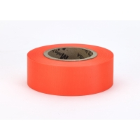 Flagging Tape Ultra Glo, Orange (Pack of 12)
