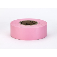 Flagging Tape, Ultra Standard, Pink (Pack of 12)