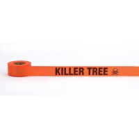 Flagging Tape Printed 'Killer Tree', 1-1/2' x 50 YDS (Pack of 9)