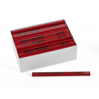 Red Carpenter Pencils, 72 pencils per box (6 sleeves of 12ea)