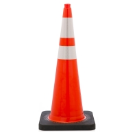 17723-136-10, Traffic Cone with 10 lbs Reflective, 36 Height, Orange, Mega Safety Mart