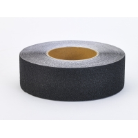 Aluminum Oxide Non Skid Abrasive Safety Tape, 60' Length x 1' Width, Black