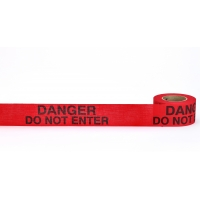 Repulpable Tape, 'Danger Do Not Enter', 3' X 45 YDS, Red (Pack of 20)