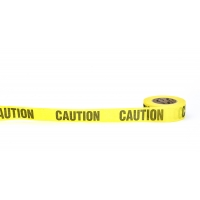 Repulpable Tape, 'Danger Do Not Enter', 2' x 45 YDS, Yellow (Pack of 30)