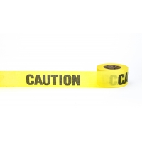 Repulpable Tape, 'Caution', 3' X 45 YDS, Yellow (Pack of 20)