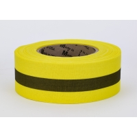 Repulpable Tape, Yellow/Black Stripe, 3' x 45 YDS (Pack of 20)