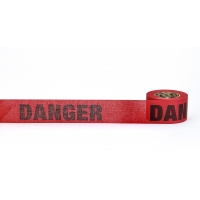 Repulpable Tape, 'Danger', Red, 3' X 45 YDS (Pack of 20)