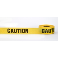 Caution Tape, 'Do not Enter', Yelllow, 3' X 1000' (Pack of 10)