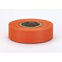 17781-145-1000, Biodegradable Flagging Tape, 1 x 100', Glo Orange, Mega Safety Mart