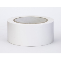 PVC Vinyl Aisle Marking Tape, 6 mil, 2' x 36 yd., White (Pack of 24)