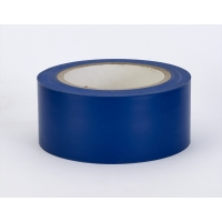 PVC Vinyl Aisle Marking Tape, 6 mil, 2' x 36 yd., Blue (Pack of 24)