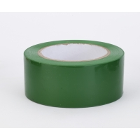 PVC Vinyl Aisle Marking Tape, 6 mil, 2' x 36 yd., Green (Pack of 24)