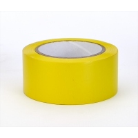 PVC Vinyl Aisle Marking Tape, 6 mil, 2' x 36 yd., Yellow (Pack of 24)