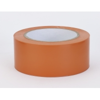 PVC Vinyl Aisle Marking Tape, 6 mil, 2' x 36 yd., Orange (Pack of 24)