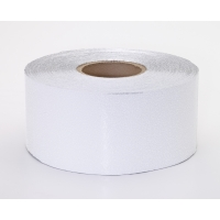 Engineering Grade Retro Reflective Adhesive Tape, 50 yds Length x 2' Width, White